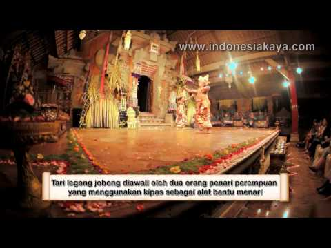 Tari Legong Jobong video
