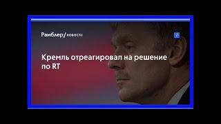 Кремль отреагировал нарешение поrt