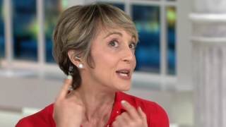 Click Secure Oversized Round Disc Earring Backs 14K Yellow Gold on QVC