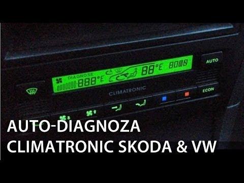 Kalibracja i autodiagnoza Climatronic (Škoda Octavia Superb Volkswagen Golf Passat B5)