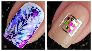 Easy And Cute Nail Art Design 2019 ❤️💅 Compilation | Simple Nails Art Ideas Compilation #104