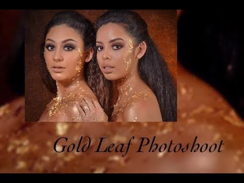 Gold Leaf  Photoshoot (behind the scenes) thumbnail