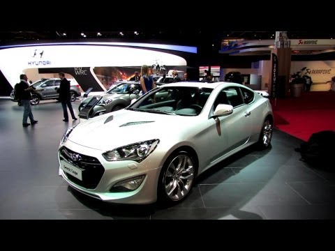 2013 Hyundai Genesis Coupe - Exterior and Interior Walkaround - 2012 Paris Auto Show
