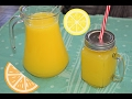 1 portakal ve 1 limon ile kolay limonata nasil yapilir