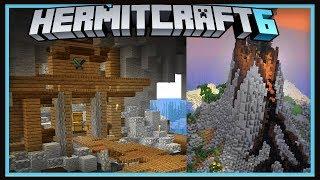 Hermitcraft Season 6: Volcano Storage Room And Announcement!   (Minecraft 1.13.1 survival  Ep.33)