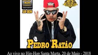 Pedro Ratão ao vivo no Hip-Hop Santa Marta.