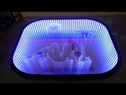 Светодиодные 3d панели своими руками