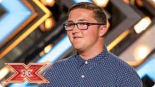 Daniel Quick comes out of his shell to impress the Judges | Auditions Week 2 | The X Factor 2017