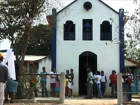 Congada Nossa Senhora do Rosário - Jequitibá - MG - Primeira abordagem da Coroação de Reis Congo