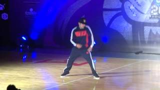 Hong Kong Best Dance Crew Sep 14 2013-Judge Performance Lando Wilkins