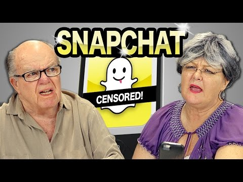ELDERS REACT TO SNAPCHAT