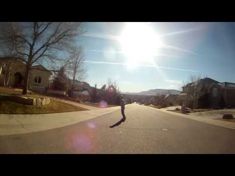 David Cerrone: Winter Longboarding Edit 2012