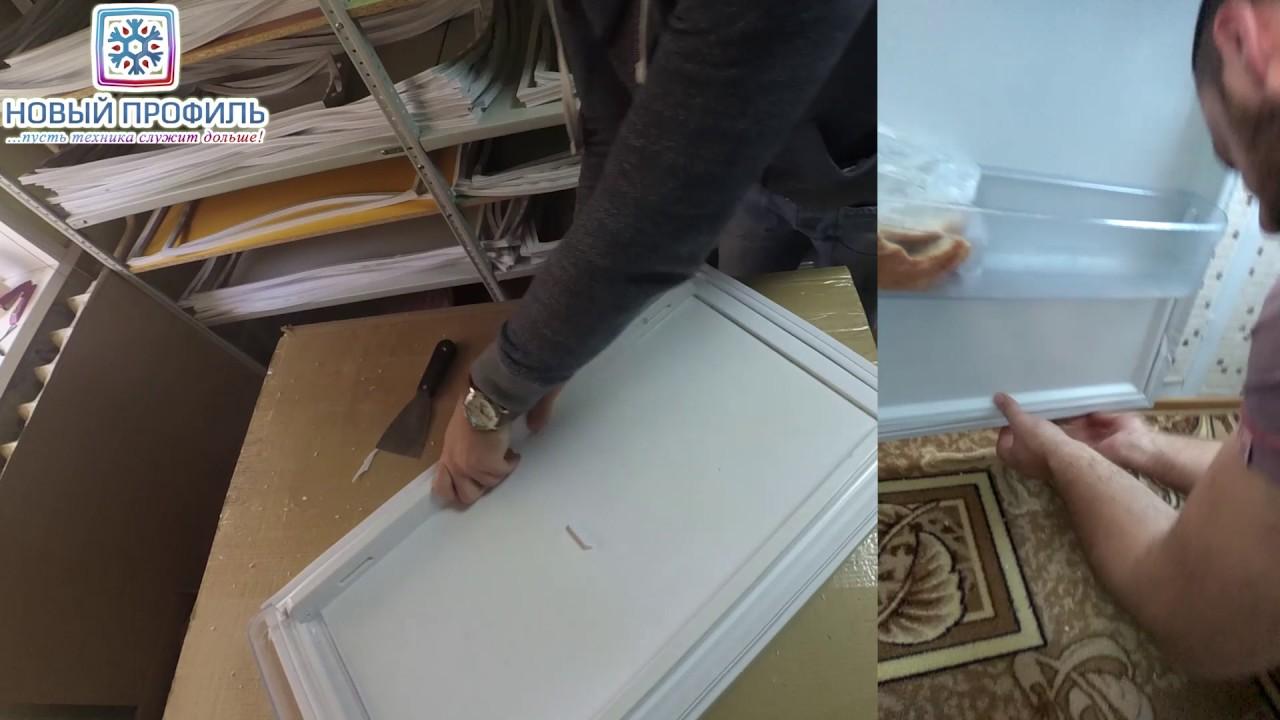 Замена своими руками уплотнителя холодильника стинол 74