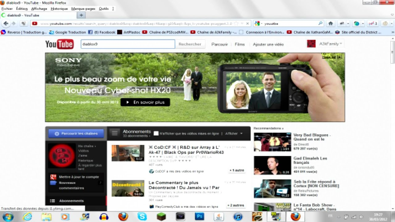 Tuto comment mettre une vid o youtube sur son ordi youtube - Comment mettre une credence ...
