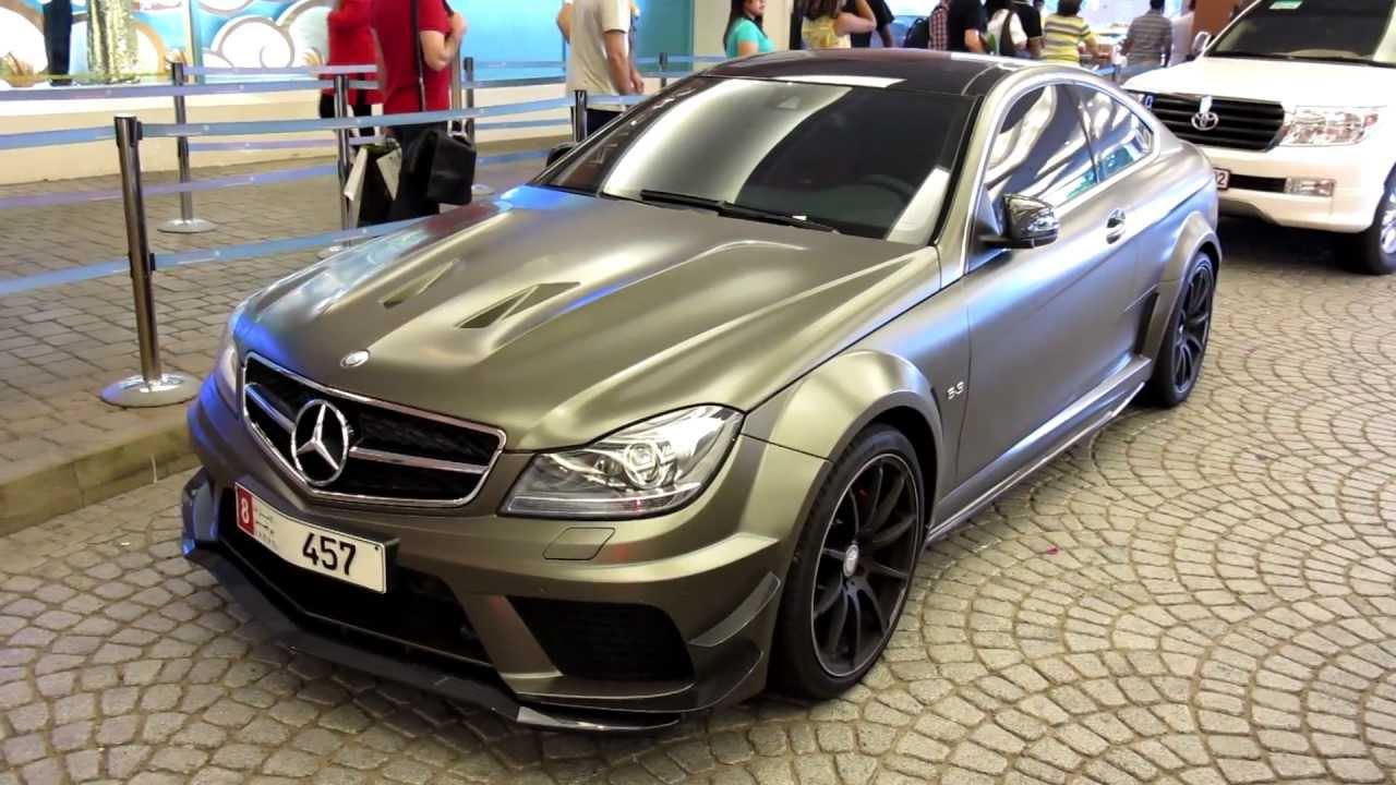 C63 Amg Coupe Grey Matte Grey C63 Amg Black