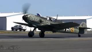 Messerschmitt Bf 109E-3 - Engine Runs