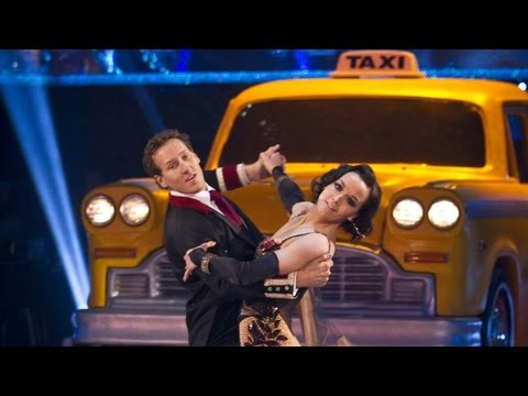 Victoria Pendleton & Brendan Quickstep to 'Luck Be A Lady' - Strictly Come Dancing 2012 - BBC One