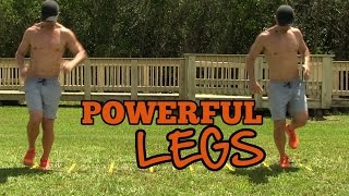 How Balanced is your Leg Strength? Single Leg Ladder Drills