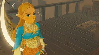 Zelda Displays The Champions Picture in Links House - Zelda Breath of the Wild