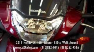 2011 Honda SH 150i Scooter 150cc Walk-Around