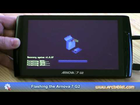 Install Android Market on Arnova 7 G2. firmware flashing procedure