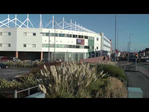 Blackpool FC Stadium,Lancashire .UK