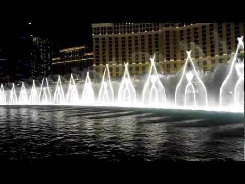 Bellagio fountain show, Las Vegas - Michael Jackson - Billy Jean