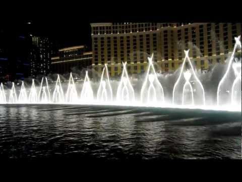 Bellagio fountain show, Las Vegas - Michael Jackson - Billy Jean