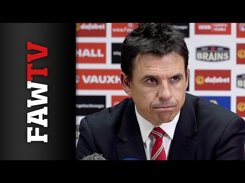 Chris Coleman Netherlands post match press conference
