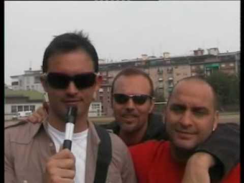 """Il saluto a CannizzaroTV del gruppo comico """"I turbolenti"""" – 21-4-07"""