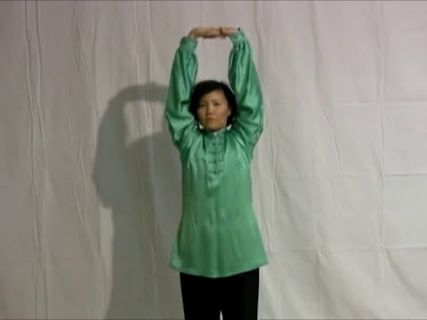 Qigong Relaxation - 2 Minute Upper-Body Loosening - Faye Li Yip