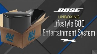Unboxing: Bose Lifestyle 600 Home Entertainment System - 761682-1110