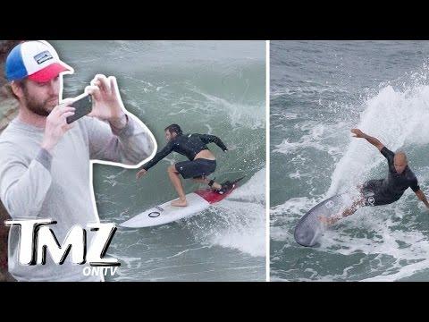 Chris Hemsworth Shreds The Gnar (TMZ TV)