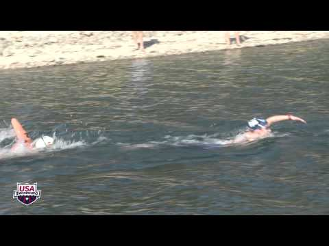 Women's 10k - 2013 Open Water Swimming Championship video