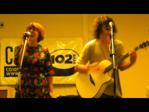 Grouplove in the CD102.5 Big Room