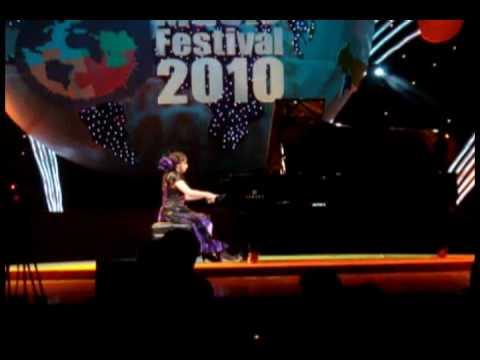 Piano FaiPhalita ตะวันสีคsาม - Joke+Grande Valse live  YTMF 2010