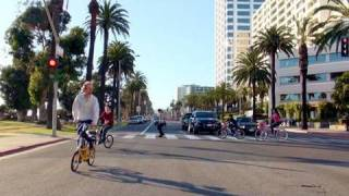 Famous Resort Town - Santa Monica in L.A., California