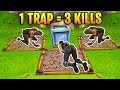 1 TRAP 3 KILLS! Epic Trap Trolling | Fortnite Best Stream Moments #2 (Battle Royale) MP3