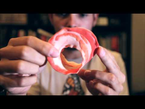 Bacon Mobius Strip, 3D-printed