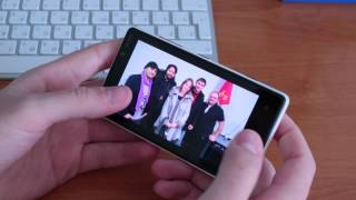 Nokia Lumia 820 Распаковка и Обзор