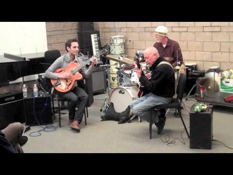 Julian Lage, George Marsh&Randy Vincent - Autumn Leaves at SSU Jazz Forum