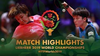 Chen Meng vs Doo Hoi Kem | 2019 World Championships Highlights (1/4)