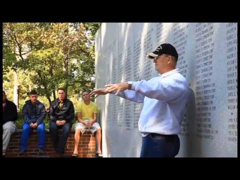 Beirut veteran speaks with Marines from CLB-6