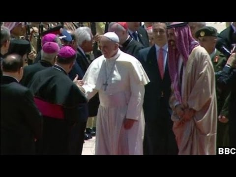 Pope Francis Begins Historic Middle East Trip In Jordan