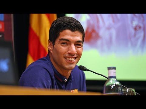 #ElClásico - Rueda de prensa Luis Suárez