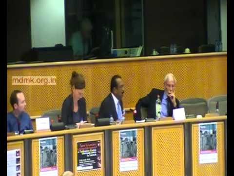 Vaiko speech in European Parliament - Brussels