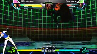 UMvC3 CTRL Unknown vs Ranmasama - The RunBack Pre SCR 2014