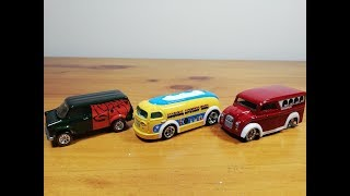 HOT WHEELS Car Culture DIECAST CARS BEATLES DAIRY DELIVERY HAULIN GAS FORD TRANSIT SUPERVAN UNBOXING