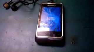Motorola XT305 - Hard Reset - Desbloquear - Resetar