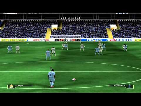 Fifa 09: Andy vs oNNe [Real vs Tottenham]